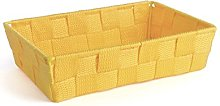 Excelsa Basket, Polypropylene, Yellow, 22.5 x 15.5