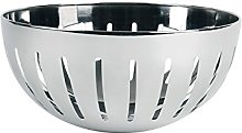 Excelsa Basket, Stainless Steel, Silver 20 x 9.7