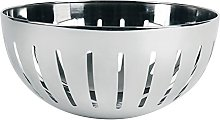 Excelsa Basket, Stainless Steel, Silver 23 x 11 cm