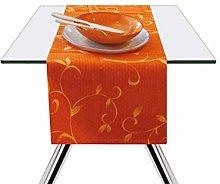 Excelsa Color Club Table Runner, Cotton, Orange,