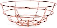 Excelsa Copper Basket, Steel, Copper