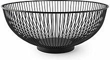 Excelsa Eclipse Fruit Basket, Steel