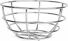 Excelsa Elegance Fruit Basket Chrome, Metal,