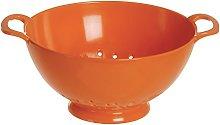 Excèlsa Orange Melamine Pasta Colander 24 Cm.