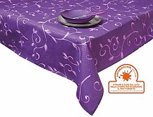 Excelsa Rectangular Stain-Resistant Tablecloth