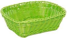 Excèlsa Weave Basket 24 X 18 cm, Dark Green