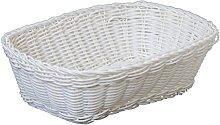 Excèlsa Weave Basket 24 X 18 cm, White