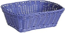 Excèlsa Weave Basket 24 X 18-Inch, Blue