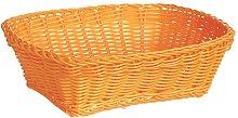 Excèlsa Weave Basket 24 X 18-Inch, Orange