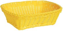 Excèlsa Weave Basket 24 X 18-Inch, Yellow