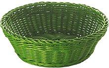 Excèlsa Woven Basket, 20 cm, Dark Green