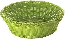 Excèlsa Woven Basket, 20 cm, Green
