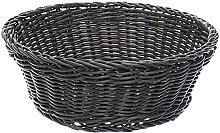Excèlsa Woven Basket, 20 cm, Grey