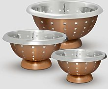 ExcelSteel 939 Professional Colander, Stainless