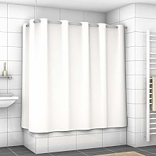 EXCLUSIVE Shower Curtain with metal eyelets