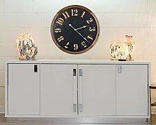 EXCLUSIVE Wooden Clock Cut Out Design FACE,