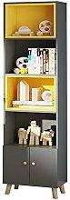 EXCLVEA Bookshelf Bookcase Bookshelf Shelf Floor