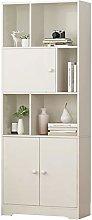 EXCLVEA Bookshelf Simple Bookshelf Floor Shelf