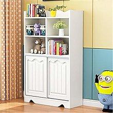 EXCLVEA Bookshelf Simple Children's Bookcase