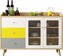 EXCLVEA Sideboard Sideboard Wine Cabinet Living