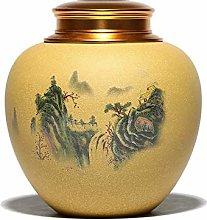 EXCLVEA Tea Tins Cans Creative Landscape And