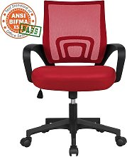 Executive Desk Chair Adjustable and Swivel Home