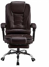 Executive Office Chair, PU leather Padded Recline,