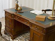Executive pedestal desk Victorian English style