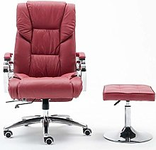 Executive Recline Leather Swivel Chair Recliner