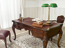 Executive writing desk Diana Chippendale style 160