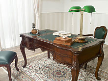 Executive writing desk Diana Chippendale style 180