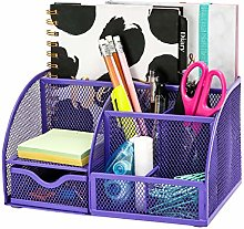 Exerz Desk Organiser/Mesh Desk Tidy/Pen