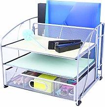 Exerz Mesh Desk Organiser Office Supplies 3