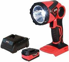 EXL515B 18V Cordless LED Flashlight Torch with 1 x