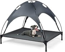 Exlarge Raised Dog Bed Puppy Pet Cot Elevated Tent