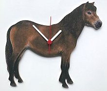 Exmoor Pony Clock - HO18