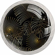 Exotic Jungle Tropical Leave Cabinet Knobs Knobs