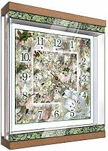 Exotic Yellow Ltd. Flowers Clock FCP5