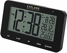 EXPLORE SCIENTIFIC NDC-1004-Alarm Clock with