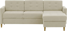 Explorer Corner Sofa Bed With Storage-Ontario 22