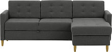 Explorer Corner Sofa Bed With Storage-Ontario 96