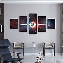 Explosive Nordic Modern Style Decorative Painting