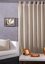 Export Trading Rachel Curtain, Beige, 140 x 265 cm