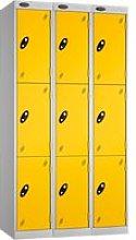 Express Delivery Probe 3 Door Locker Nest Of 3,