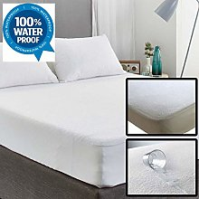 EXQUIZIT HOME Terry Towel Mattress Protector