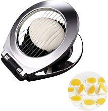 EXQULEG Egg Slicer Stainless Steel Egg Cutter Tool