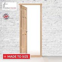 Exterior Door Frame, Type 1 for Single Doors, Made