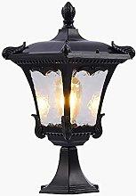 Exterior Light Bollard lamp Black Outdoor Floor