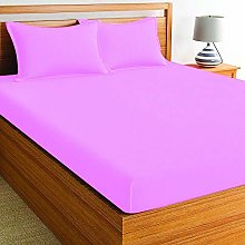 EXTRA DEEP FITTED SHEETS 16inch DROP 40cm EASY CARE SOFT SINGLE DOUBLE KING SIZE
