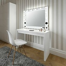 Extra Large Artist Cosmetic Makeup Mirror with Led